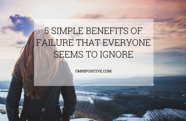 benefits of failure